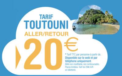 20€ aller-retour pour aller aux Saintes