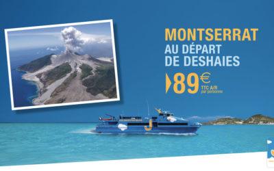 89€ aller-retour à Montserrat